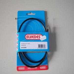 Kreidler gaskabel kort zwart merk Elvedes