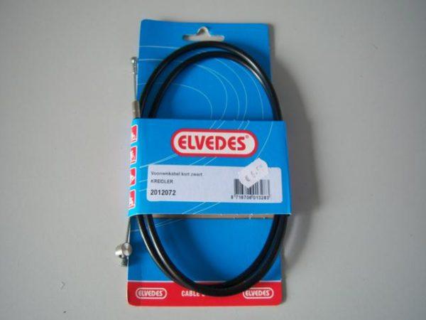 Kreidler Voorrem kabel kort zwart merk Elvedes