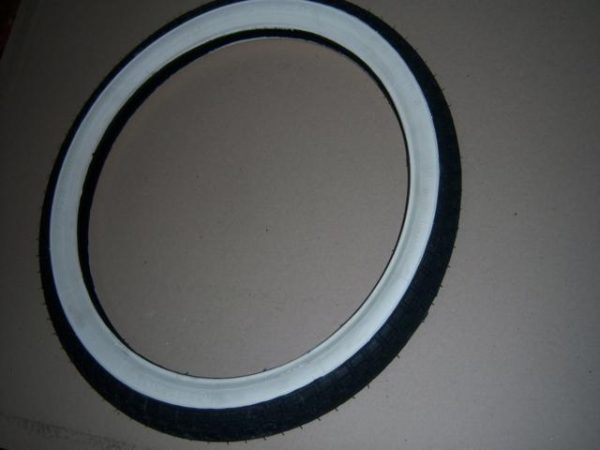 Kreidler Continental buitenband zwart wit 19 inch kks10ww