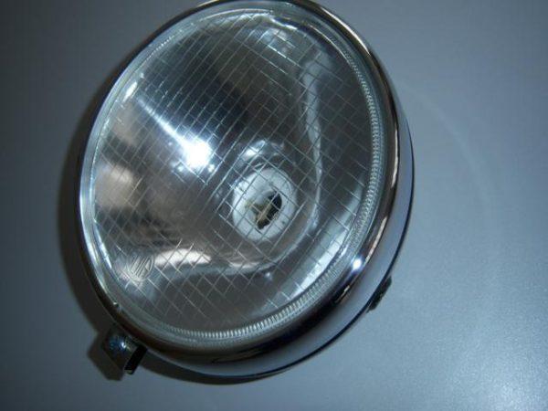 Kreidler RMC ronde koplamp compleet