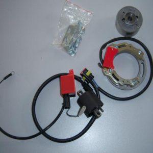 Kreidler HPI binnen rotor ontsteking zonder licht