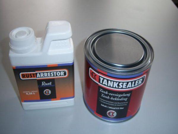 Tank Sealer met ontroester en handleiding