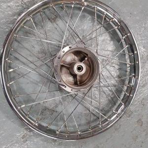 Kreidler 19 inch wiel spaken met A-kwaliteit verchroomde velg