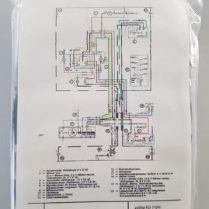 Kreidler RMC kabelboom met knipperlichten