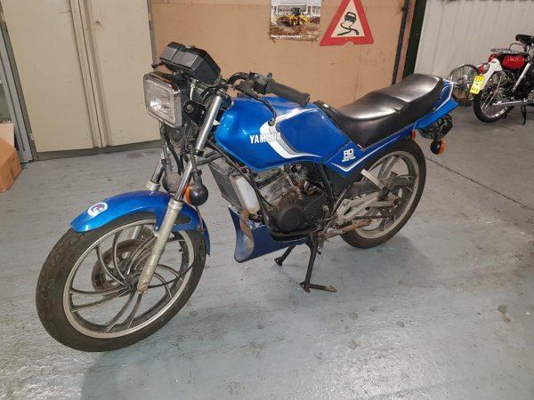 Yamaha RD125LC zonder papieren