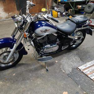 Kawasaki VN800 Classic van bouwjaar 1997 met slechts 16000 km