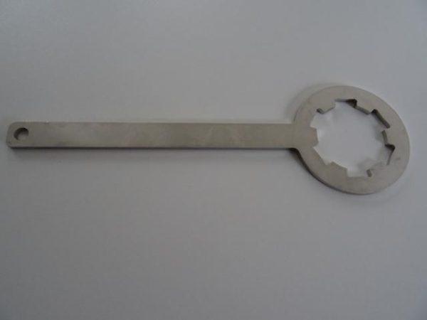 Kreidler koppeling blokkeer sleutel RVS