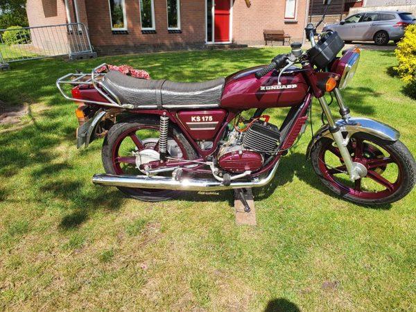 Zündapp KS175 WaterCooled bouwjaar 1979 Gerestaureerd Motor Kenteken