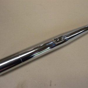 Kreidler 32 mm uitlaat demper met afneembaar achterstuk 3 delig zonder lasnaad