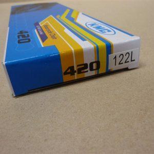Ketting voor Kreidler 122 schakels 1/4 breed ketting