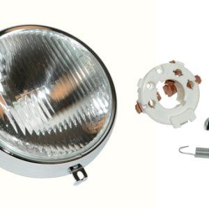 Kreidler koplamp unit voor RS dunne chroomring