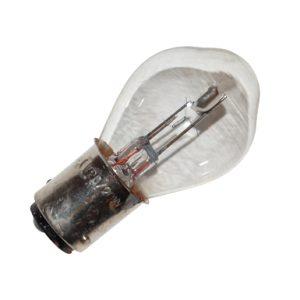 Duplo lamp maat BA20 6V