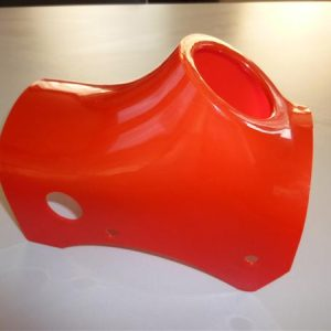 Balhoofdkap voor Kreidler GT Hondekop model 1967 Rood