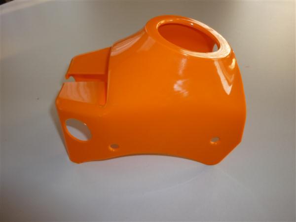 Balhoofdkap voor Kreidler florett model 1968 t/m 1972 Oranje