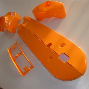 Kreidler Kunststof set model 1968-1972 Oranje