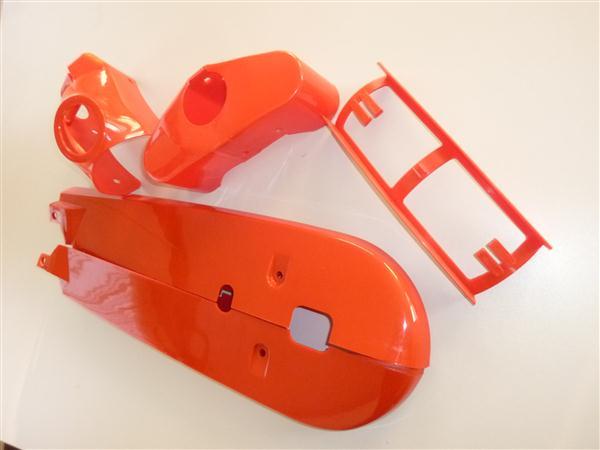 Kreidler Kunststof set model 1968-1972 Rood