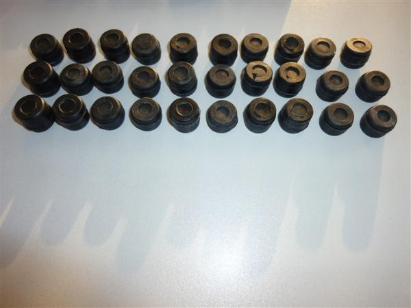 Super Breitwand trilrubberset voor Cilinderkop Kreidler