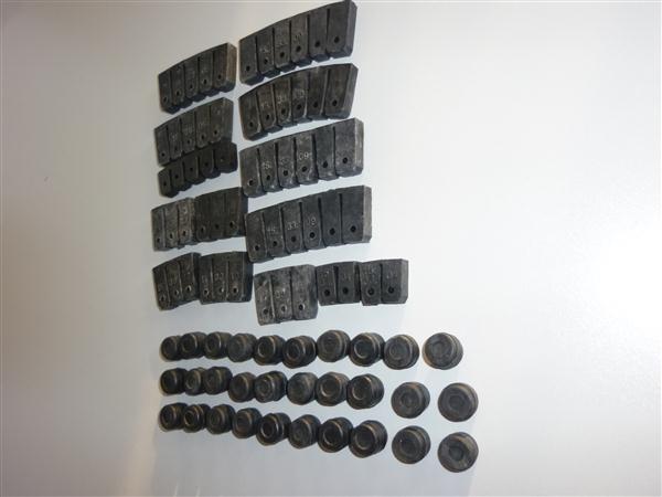 Super Breitwand trilrubberset voor Cilinder en Cilinderkop Kreidler
