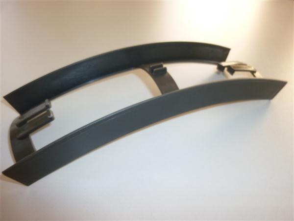 Kreidler Florett tussenstuk tussen frame en achterspatbord Antaciet