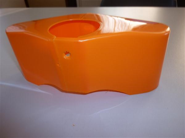 Kreidler voorvork kap Oranje 2 delig