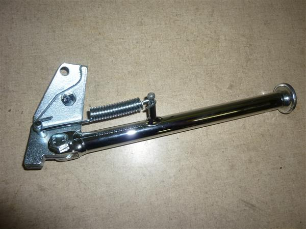Kreidler schuine standaard volledig in chroom uitgevoerd