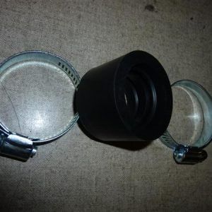 28 mm carburateur aanzuigrubber met klemmen