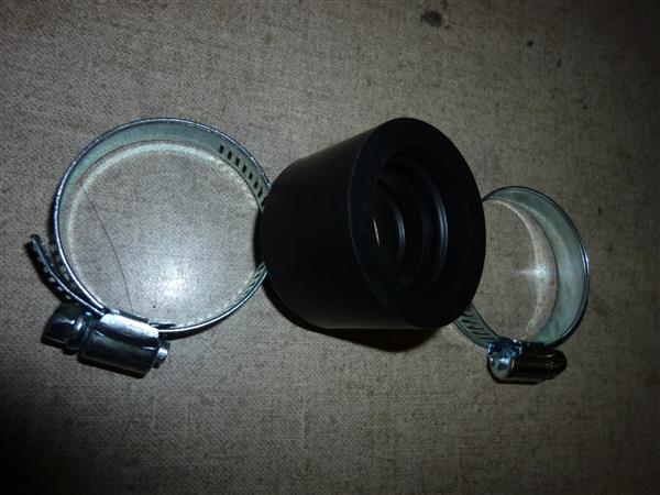 28 mm carburateur aanzuigrubber met klemmen