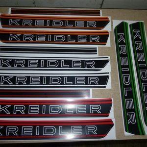 Kreidler bloktank stickers diverse kleuren