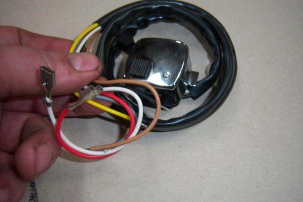 Kreidler lichtschakelaar model 1968-1975 6 draads