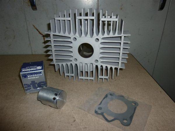 MAXWELL Krad 50ccm Super Breitwand Zylinder mit Kolben Meteor und überstrom kanale