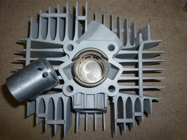 MAXWELL Krad 60ccm Super Breitwand Zylinder mit Kolben Meteor und überstrom kanale