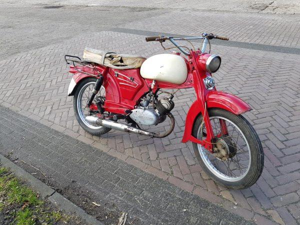 Zundapp 510 van bouwjaar 1961 met 4 bak geen kenteken