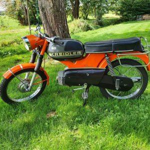 Kreidler RM K54/403 1976 4 bak direct. 6100 km!!!