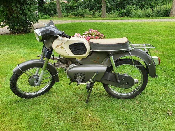 Kreidler GT K54-51 1967. 5 bak. Slechts 8609 originele km!!